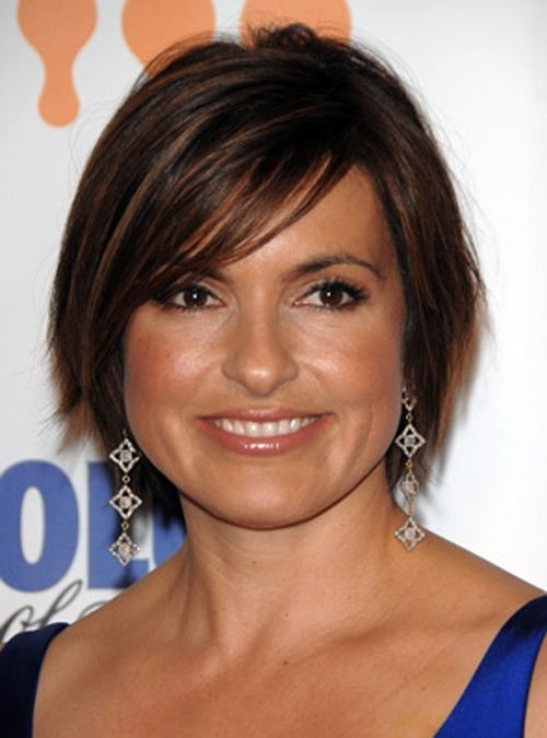Short Hairstyles For Round Faces…