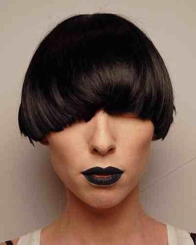 hair + lipstick.
