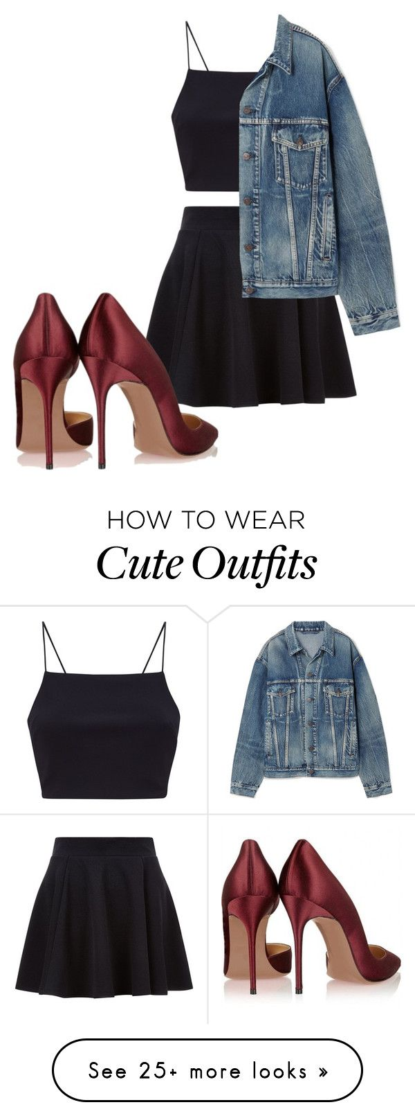 """""""Cute outfit x"""" by tgamma11 on Polyvore featuring Balenciaga"""