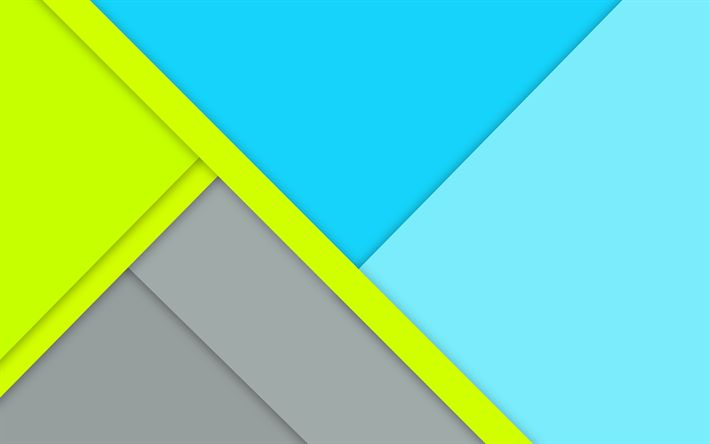 Download wallpapers 4k, geometric shapes, strips, creative, lines, material design, abstract material