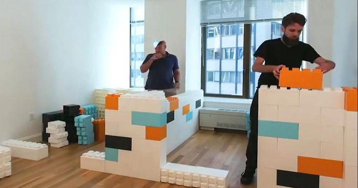 The EverBlock System allows adults to transform LEGO-building skills into bigger projects. There are 4 different blocks, and 5 accessory pieces. Prices range from $3.95 to $7.25 per item (depending on its size), but there are bulk packs with better deals for more serious architects.