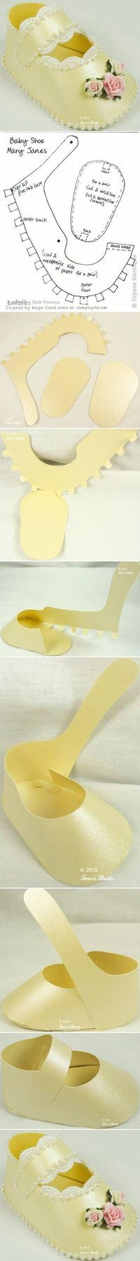 DIY Adorable Baby Shoes by fani geor