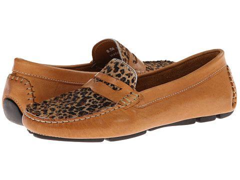 Massimo Matteo Penny with Cheeta Vamp Tan Bison/Cheeta - Zappos.com Free  Shipping