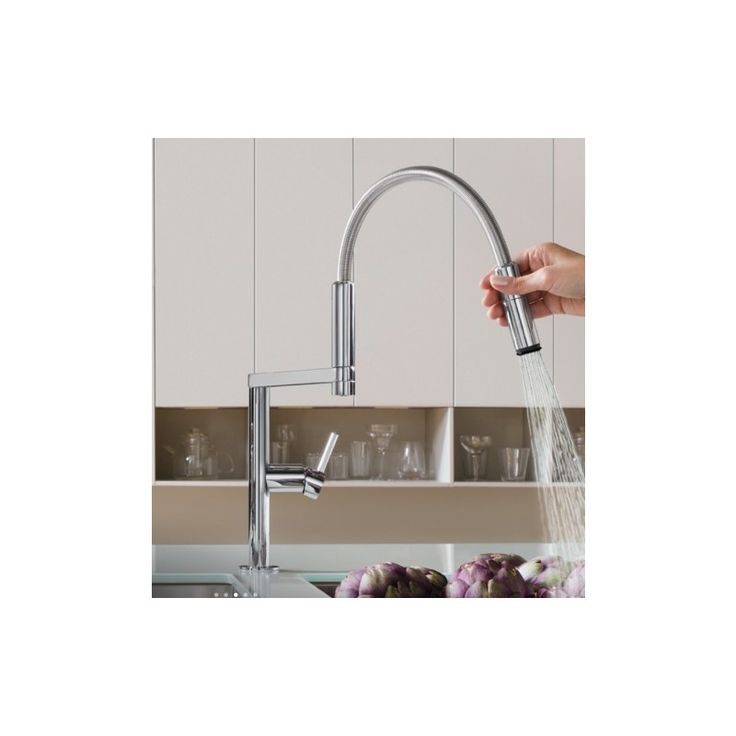 NOBILI MOVE SINGLE LEVER SINK MIXER KITCHEN TAP CHROME PLATED Nobil...