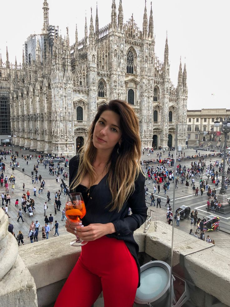 View from Terrazza Duomo 21 in Milan