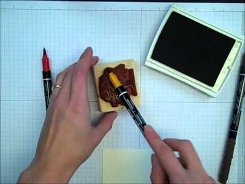 Very cool technique with one-of-a-kind results! Marker Thumping Technique