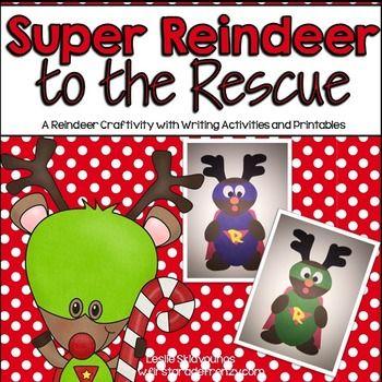 Reindeer Craftivity