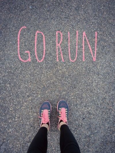 Run has become my new favorite away to release what gets built up inside. Lace up the running shoes and get moving :)