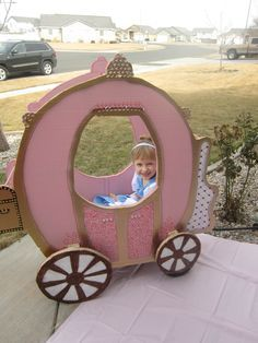 turning a wagon into cinderellas carriage - Google Search