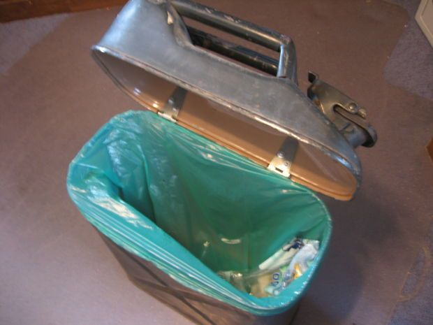Picture of Jerry Can Trash Can