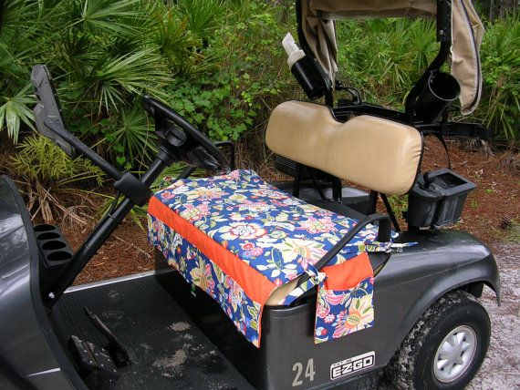 Golf Cart Seat Covers by MarykatesCustomDesig on Etsy