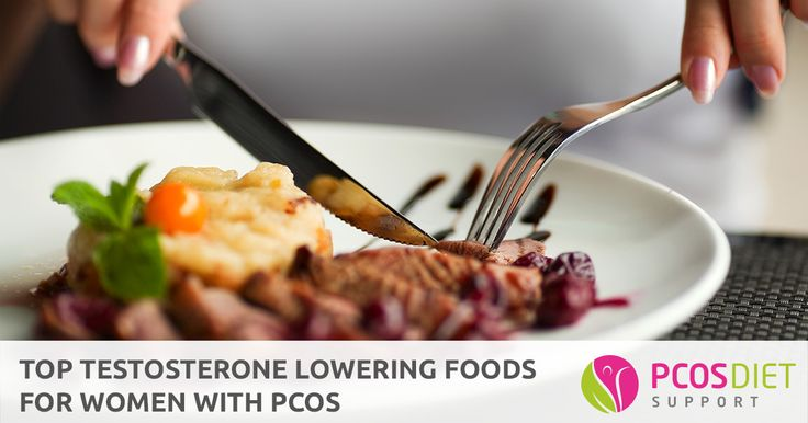 PCOS is characterised by high testosterone levels. Here are some testosterone lowering foods to incorporate into your PCOS diet...