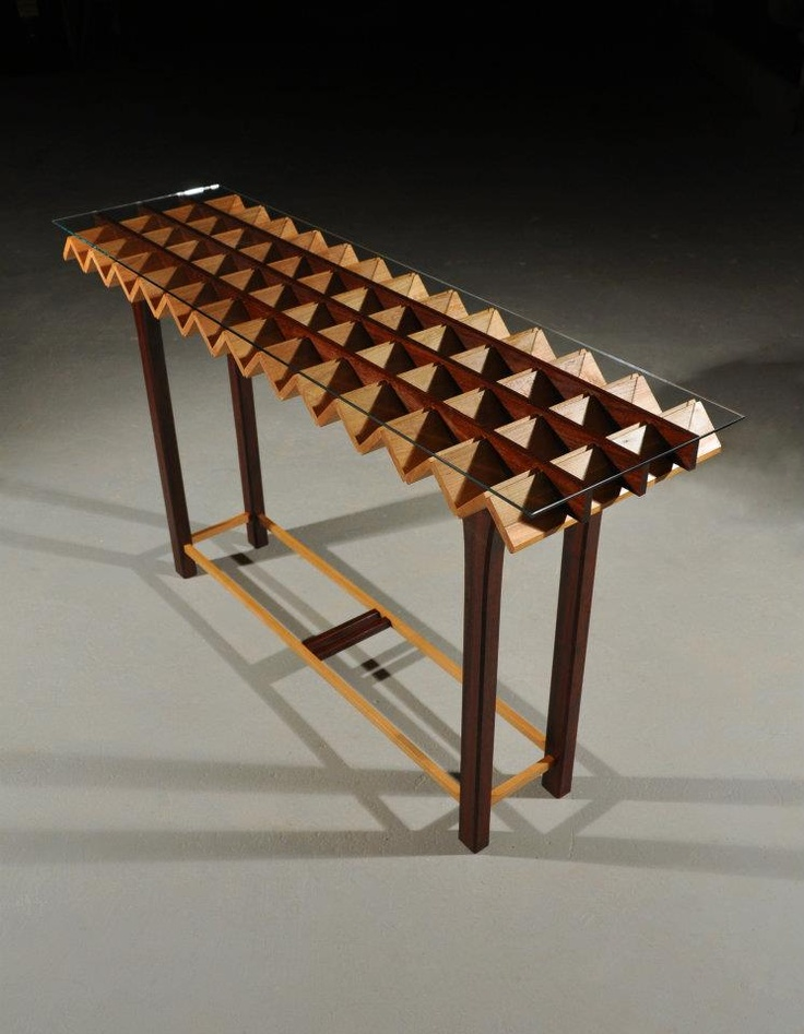 Accordion Table. Tyler Beaudoin. Www.beaudoinwood.com