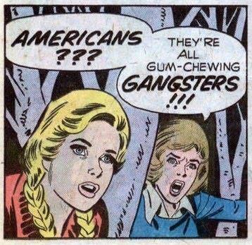 Those damn Canadians . Make fun of us will ya ? Blam , blam blam ...