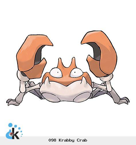 098 Krabby Crab