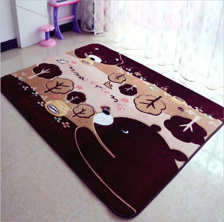 ==> [Free Shipping] Buy Best 150X200cm Carpet Anti-skid Koala Cartoon Carpet Anti - slip Thickening Baby Climbing Green Mats Living Room Coffee Table Carpet Online with LOWEST Price | 32782192686