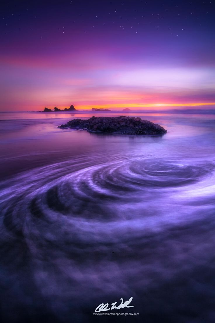 Vortex Chris Williams Exploration Photography Ruby Beach Sunset, Olympic National Park, WA