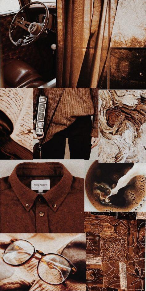 aesthetic brown warm