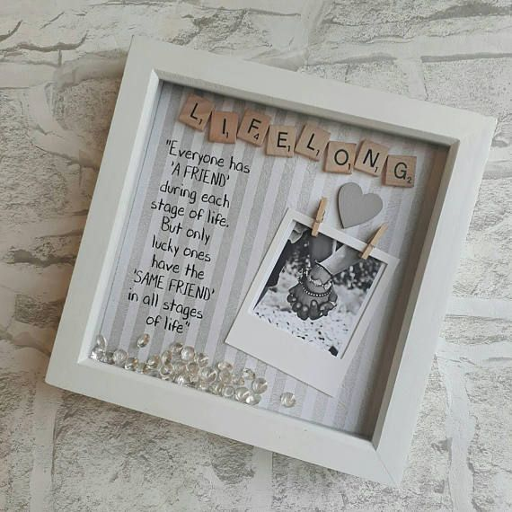 Best Friend Picture Frame Engagement Gifts for Best Friend