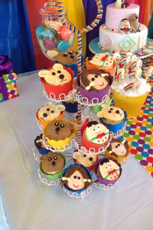Playschool Party with cute decorations and fun games is a party that all kids will enjoy. Look at this party share on Kids Party Space and get party ideas.