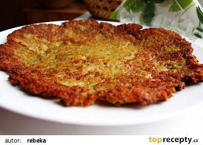 Křupavé bramboráky recept - TopRecepty.cz