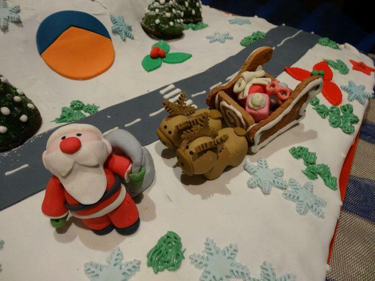 Santa's cake