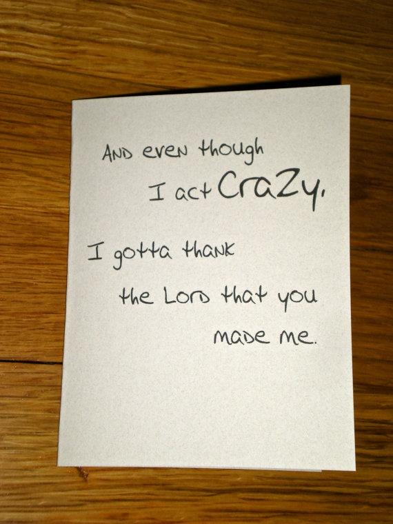 Mother's Day Card Dear Mama Tupac Card by theBirdandtheBeard, $3.00