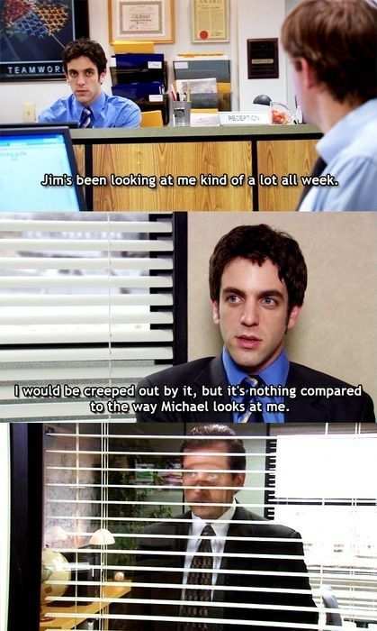 "He kept an eye on his employees. | Community Post: 82 Reasons Why ""The Office's""…"