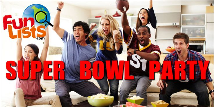 If you're throwing a Super Bowl party yourself, there are a few basic elements you should consider: