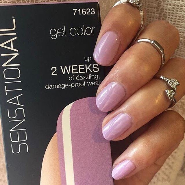 we are going crazy for this spring SensatioNail color 'Heirloom Lilac'