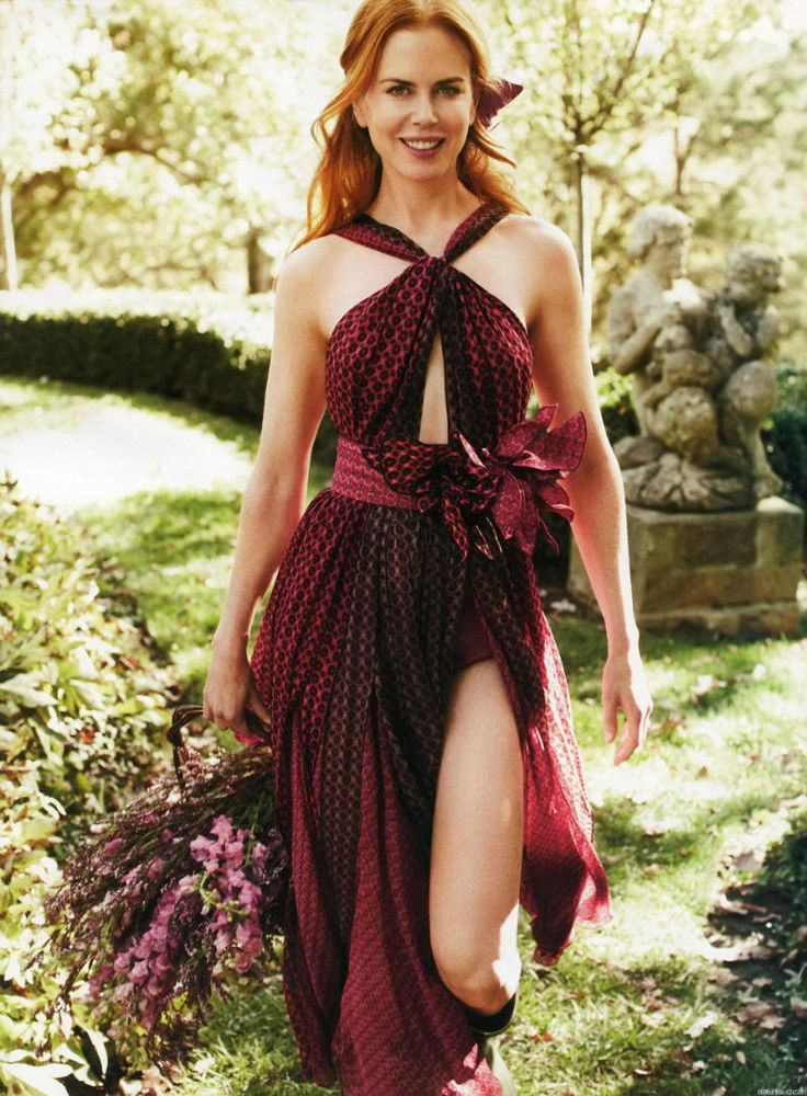 """Life in pics: Editorials: """"Step into Spring"""" - Nicole Kidman by Alexi Lubomirski"""