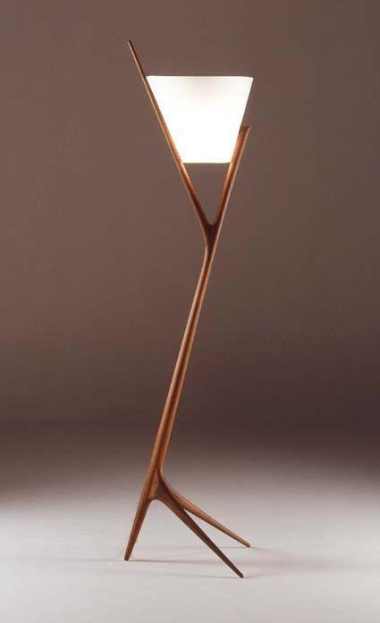 Lamp made by Noriyuki Ebina, Japanese furniture designer.