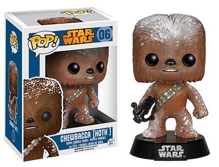 Funko Pop Star Wars 06 Chewbacca Hoth GameStop Exclusive