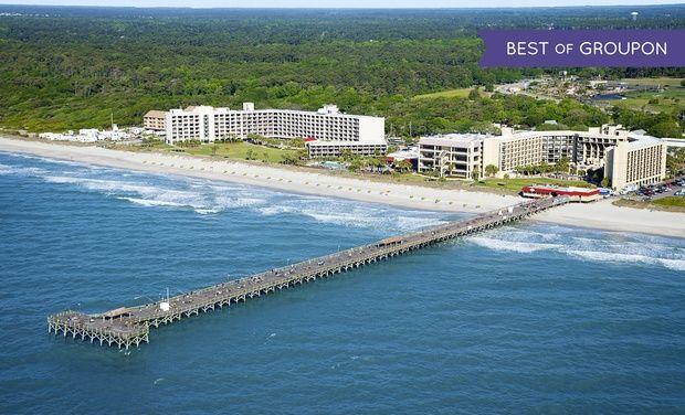 Springmaid Beach Resort - Myrtle Beach, SC: Stay at Springmaid Beach Resort in Myrtle Beach, SC. Dates into June.