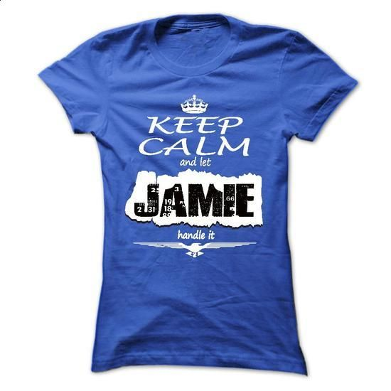 Keep Calm And Let JAMIE Handle It- T Shirt, Hoodie, Hoo - #tee shirt design #vintage tee shirts. MORE INFO => https://www.sunfrog.com/Names/Keep-Calm-And-Let-JAMIE-Handle-It-T-Shirt-Hoodie-Hoodies-YearName-Birthday-Ladies.html?60505