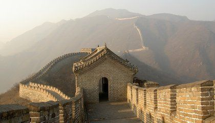 Sticky Rice Mortar, the View From Space, and More Fun Facts About China's Great Wall The not-so-effective wall was a lengthy, pricey project that stretched across thousands of years