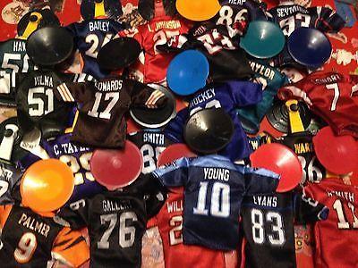 NFL Mini Fútbol Jersey Burger King gran media embutidora incluye ventosa