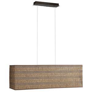 Rustic Ceiling Light Pendant Rectangular Rustic Style 3 Light By Philips - SALE | eBay