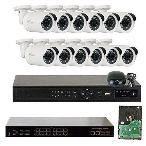 ip camera system poe 1080p
