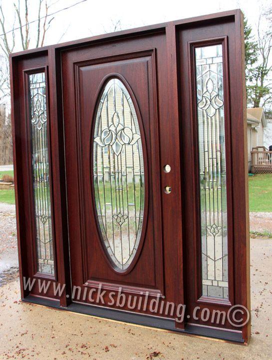 20 best mahogany doors images on pinterest front doors wooden doors and doors for Best stain for exterior wood door
