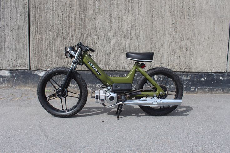 Puch maxi ARMY - oldschool (member of Brothers On Mopeds) https://www.facebook.com/brothersonmopeds/?fref=ts