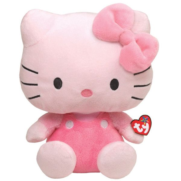 """Ty Hello Kitty Beanie Babies Pink An adorable #animated plush that reads a humorous version of the classic """"#PinkBears"""" folktale in a child's voice."""