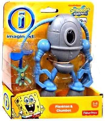 Imaginext SpongeBob Squarepants Plankton and Chumbot Exclusive Action Figures in Toys & Hobbies,Preschool Toys & Pretend Play,Fisher-Price | eBay