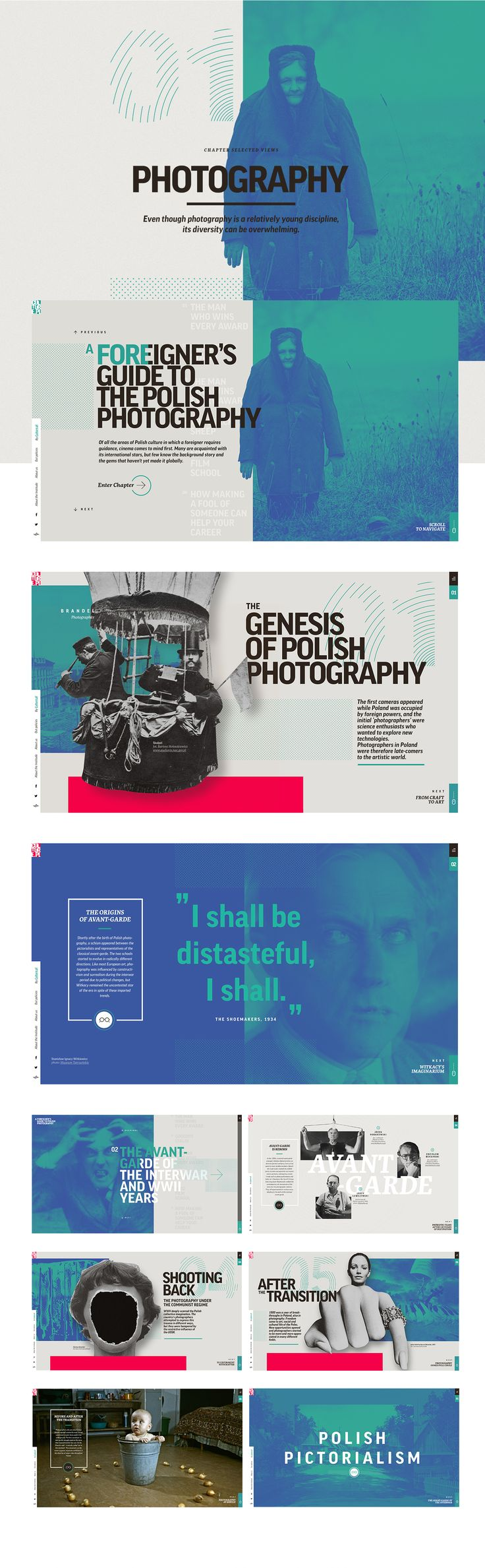 Multimedia Guides to Polish Culture on Behance