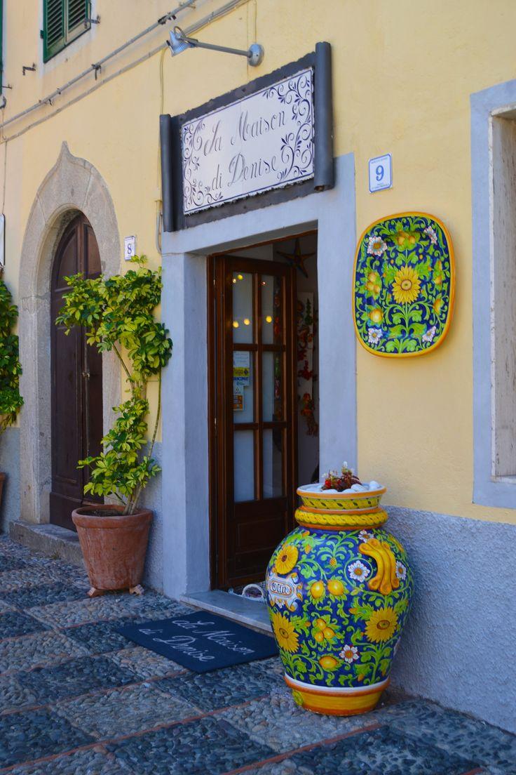 Little town in Isola D'Elba, Marciana Marina