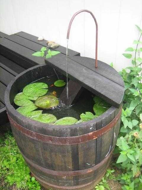 une super fontaine de jardin