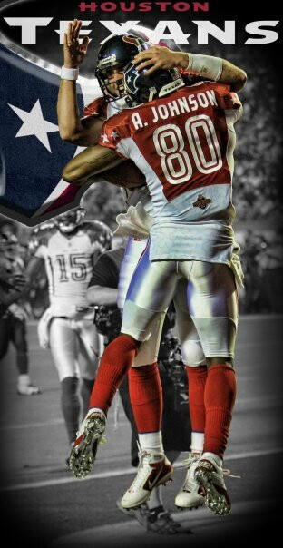 My Favorite Texans players - Andre Johnson, Arian Foster AND JJ WATT!!!
