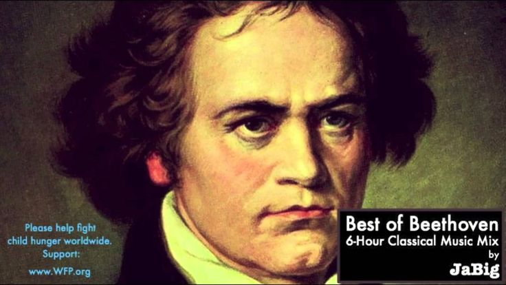 6 Hour of The Best Beethoven - Classical Music Piano Studying Concentration Playlist Mix by JaBig, via YouTube.