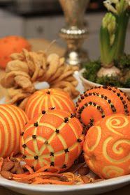 Scandinavian Chic: Christmas Oranges and some blog love! / Juleappelsiner og litt bloggelsk!
