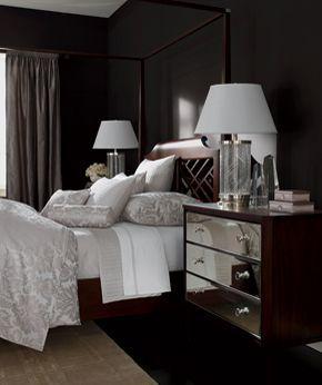 A Cozy Yet Classy Ethan Allen Bedroom.